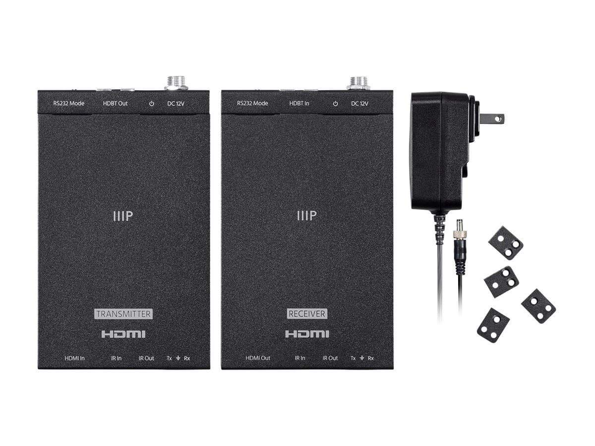Monoprice Blackbird 4K Pro HDBaseT Extender Kit, IR, 70m With PoC, RS232, HDCP 2.2, 4K@60Hz by Monoprice (Image #5)