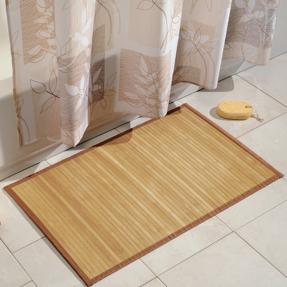 Amazoncom InterDesign Bamboo Floor Mat Ideal Mat for Kitchens