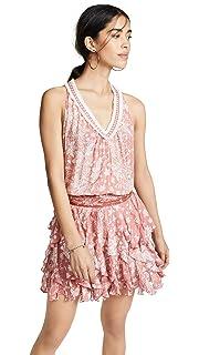 5f3a8aac5df7 Poupette St Barth Women s Clara Ruffled Mini Dress