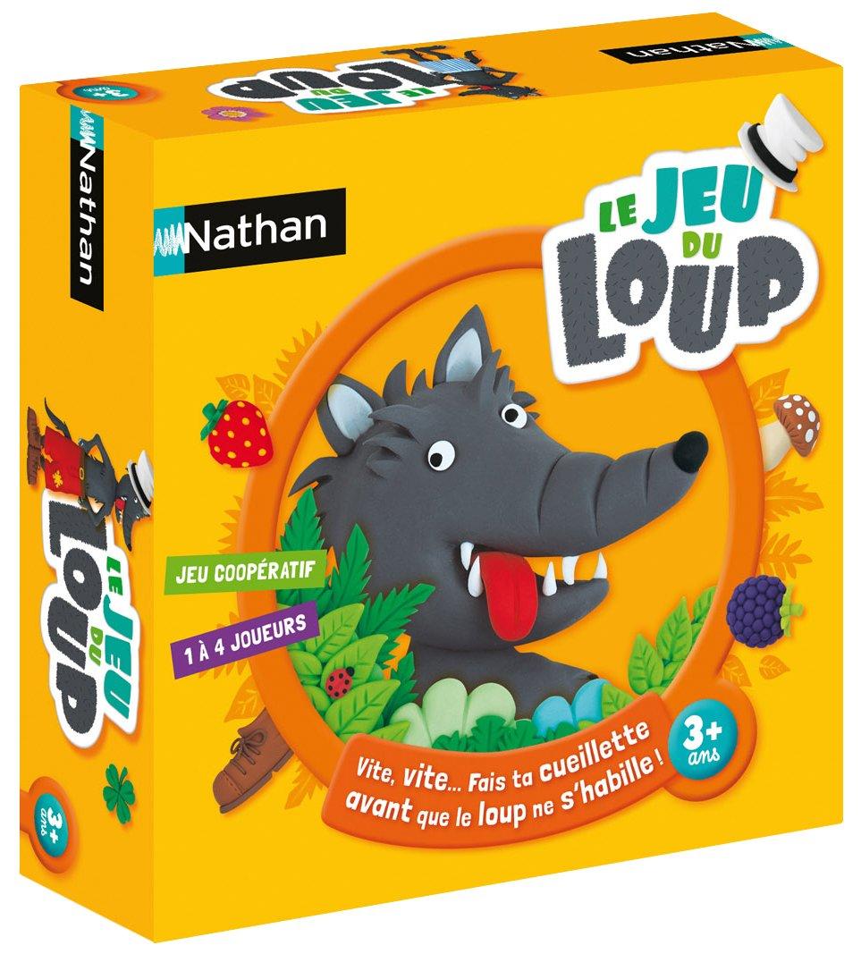 Nathan - 31129 - Jeu de Société - Le Jeu du Loup product image