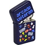 Pixel Characters Windproof Lighter. Cool Retro Gaming Geek Chic Funky Gift