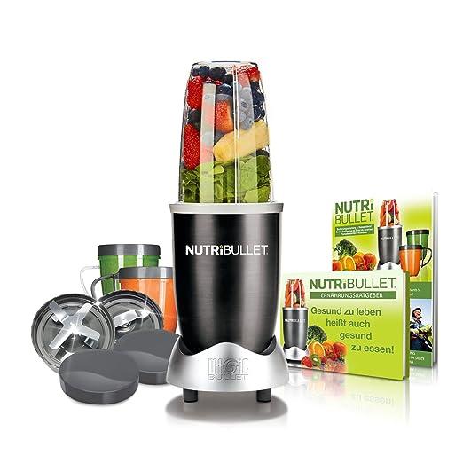 NutriBullet EXTRAKTOR Basis Batidora de vaso 600W Gris - Licuadora ...