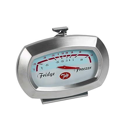 Compra Tala - Termómetro para frigorífico y congelador, Plata en ...