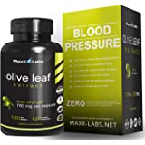 Best Olive Leaf Extract ★ New ★ Natural Pure Oleuropein 20% Standardized Powder - 750mg Pills for Cardiovascular Health, Immune Support, Super Strength Antioxidant - 120 Veggie Capsules