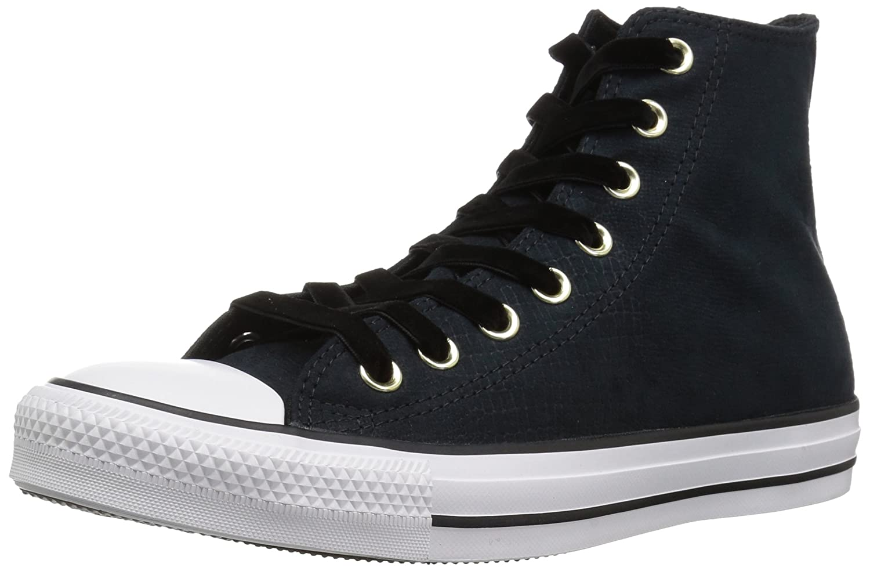 f4ec608c99b5 Amazon.com | Converse Women's CTAS Hi Black/White Sneaker | Fashion Sneakers