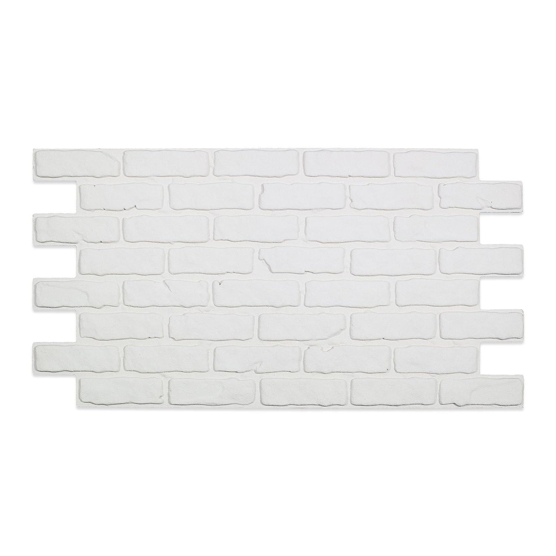 Imitation brique en polystyrè ne CORENO 110 cm x 56 cm Decoresin S.r.l.