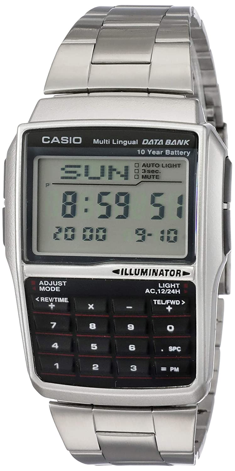 98c94c366141 Buy Casio Vintage Series Digital Grey Dial Men s Watch - DBC-32D-1ADF  (DB36) Online at Low Prices in India - Amazon.in