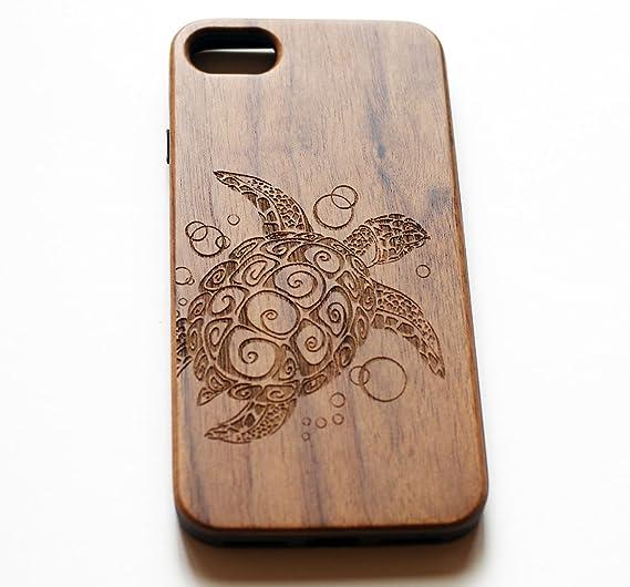 wholesale dealer 95f44 26891 VIVIPOW Wood Phone Case Compatible iPhone 7 Case,Sea Turtle Phone Case  Compatible iPhone 7 4.7 Inches
