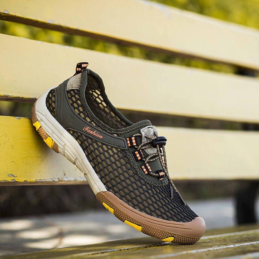 Chaussures De Sport en Plein Air pour Hommes été Maille Chaussures De Séchage Rapide Séchage Rapide Sneaker ArmyGreen