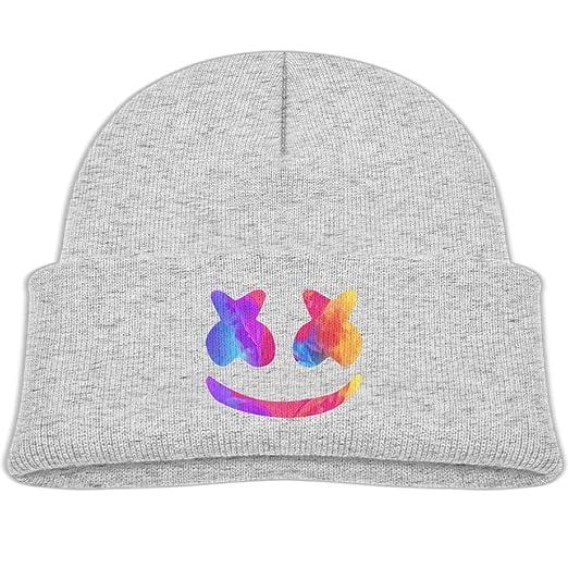 f59ba771528 Amazon.com  Kocvbng I Beanie Cap Knit Hats Marshmello Helmet Winter ...