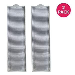 Crucial Vacuum Replacement Parts Compatible with Bissell Filter 8 14, Part # 3091 2038093 203-6608 470856 FX HVF090 - HEPA Style, Fits Vacs Momentum Velocity Bagless Upright, Bulk (2 Pack)
