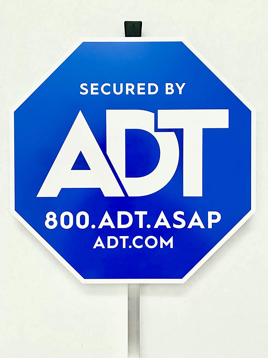 Authentic ADT Yard Sign with Aluminum Post 27""