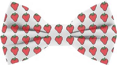 Pajarita Fresas. Colección de moda hombre. Línea boda y eventos. Diseño divertido de la maravillosa fruta roja. Hecha a mano en España. Regalo original: Amazon.es: Ropa y accesorios