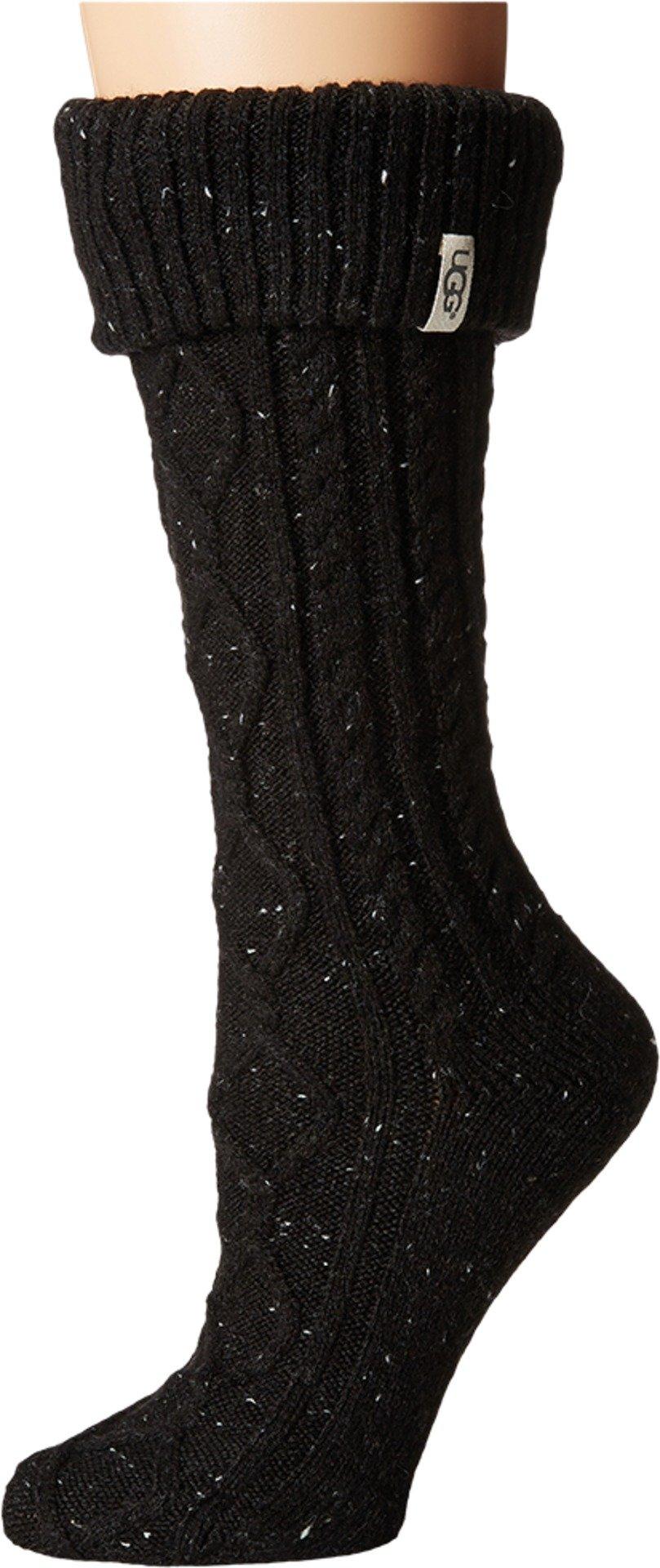UGG B2 Women's Shaye Tall Rainboot Sock, Black, O/S