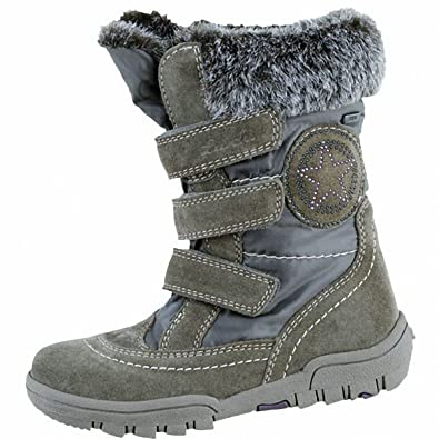 6cbb146c64fc57 Lurchi Sue Leather II Tex Girls Winter Tex Boots 3735202 26 Green Size  4
