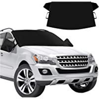 $23 » CHERYLON Car Windshield Snow Cover with Side Mirror Covers for Most Vehicles, Cars Trucks…
