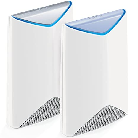 Netgear Orbi Pro AC3000 Tri-band Wi-Fi System for Business (Pack of 2) Routers at amazon
