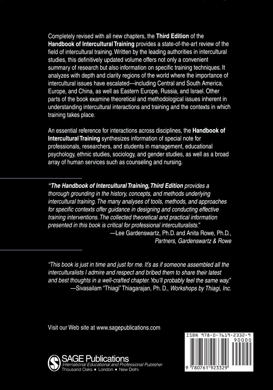 Handbook of Intercultural Training: Amazon.de: Daniel (Dan) R ...