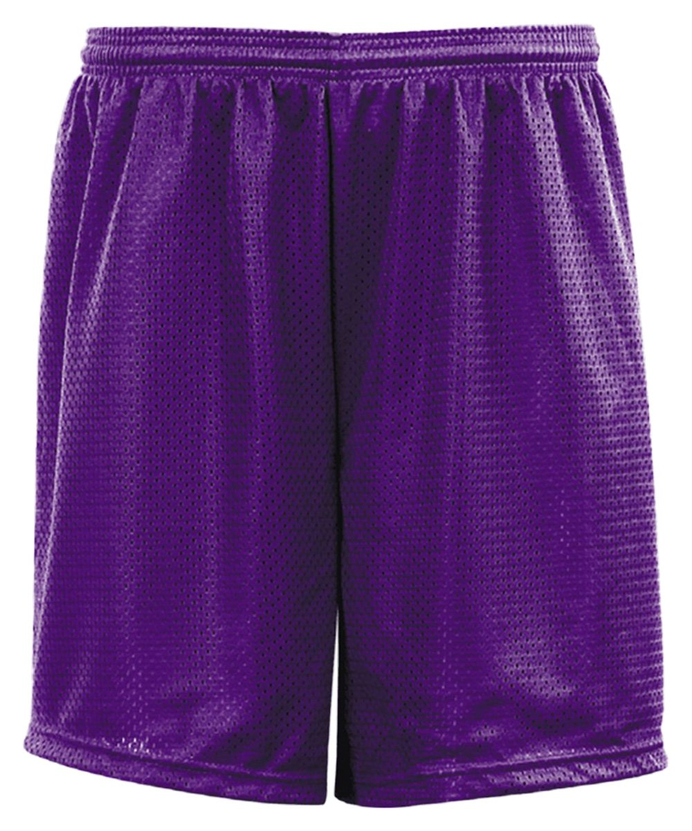 C2 Sport 5209 Youth Mesh 6'' Short Purple L by C2 Sport