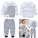 Yilaku Newborn Summer Baby Clothes Sets Toddler