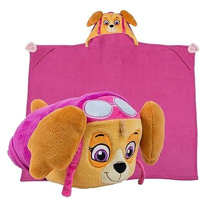 Amazon Com Comfy Critters Stuffed Animal Plush Blanket Paw Patrol