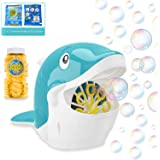 Toyard Bubble Machine,Bubble Machine for Parties,4 OZ Bubbles Refill Included