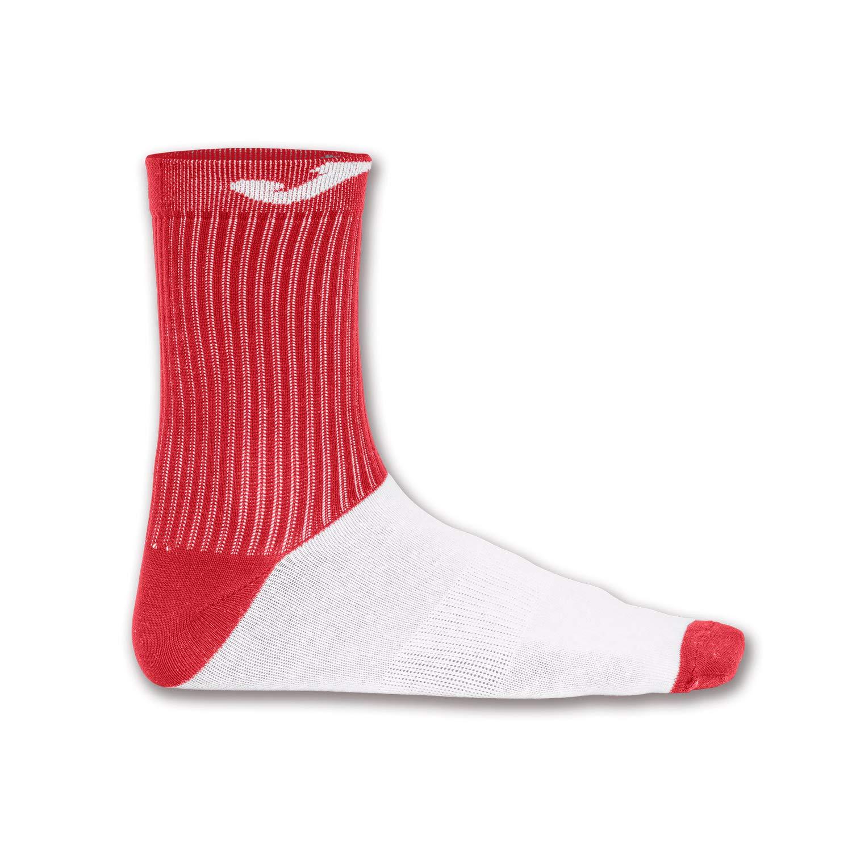 Joma Socks 400476 Paire de Chaussettes en Coton Rouge