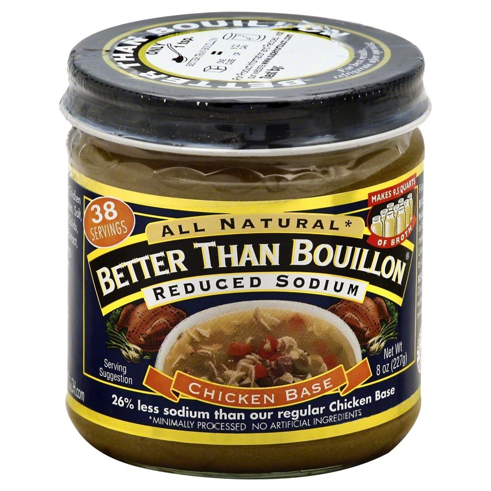 Betterthan Reduced Sodium All Natural Chicken, 8 Ounce - 6 per case.