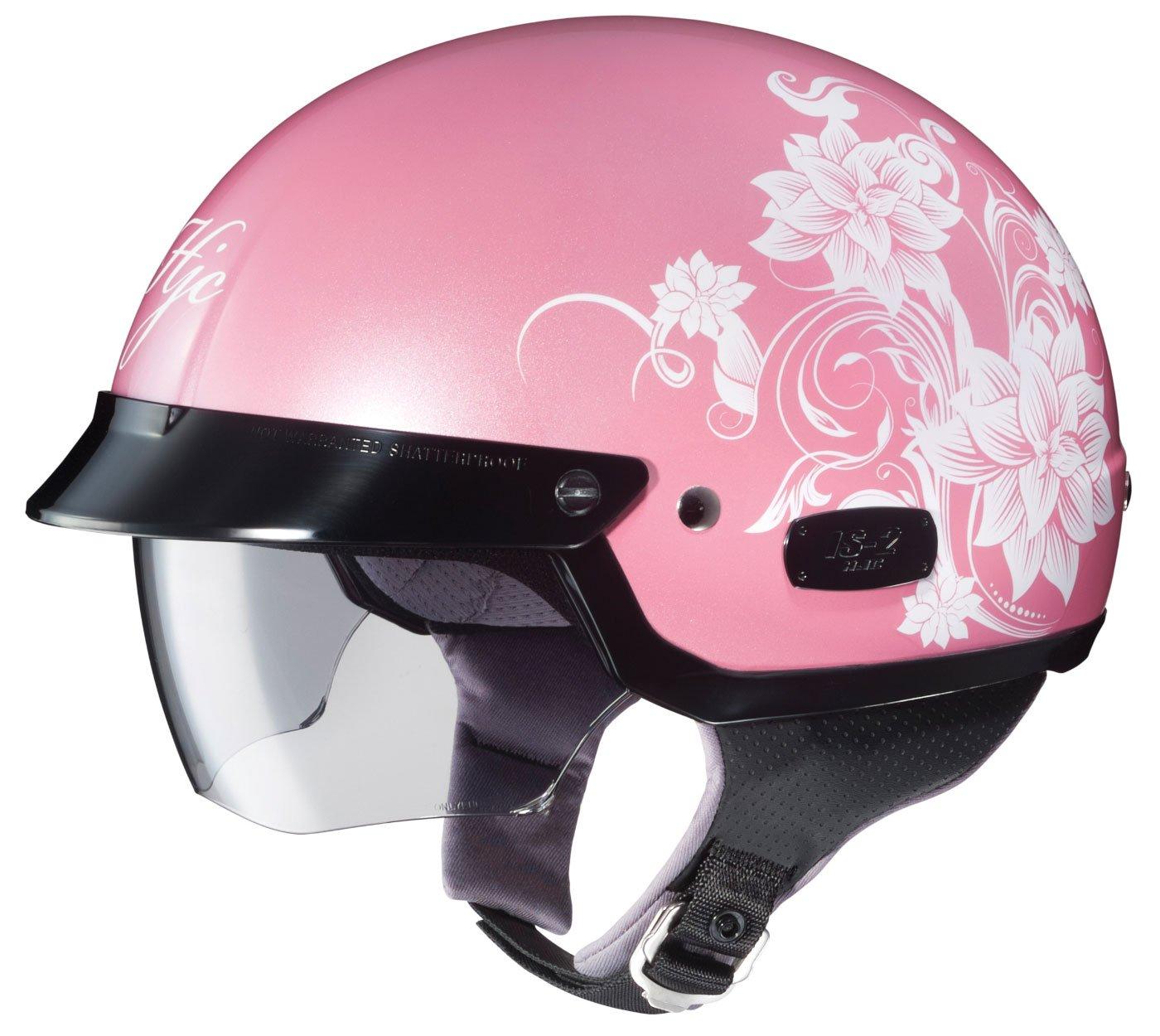 HJC IS-2 Blossom Motorcycle Half-Helmet 486-982 MC-8, Small