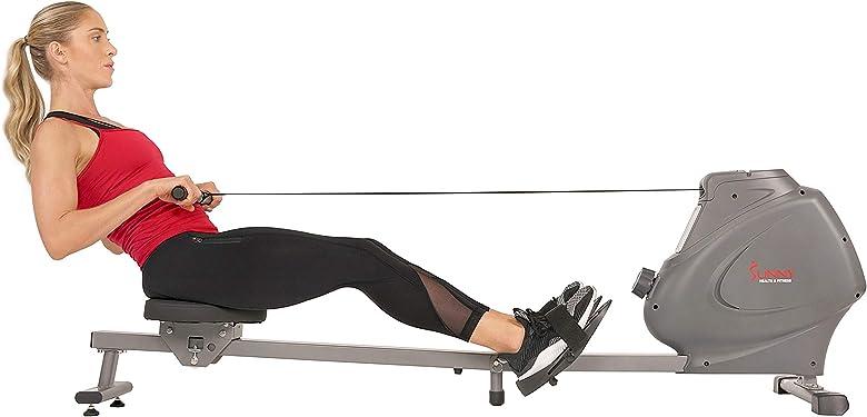Rameur magnétique pliable et compacte: SF-RW5801 de Sunny Health & Fitness