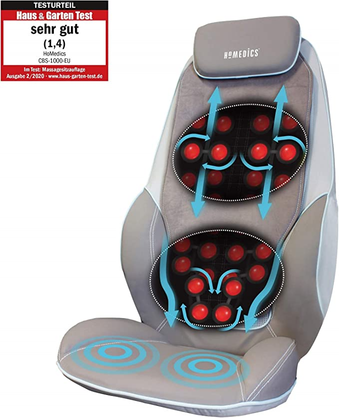 HoMedics Appareil de massage shiatsu pour le dos et les épaules