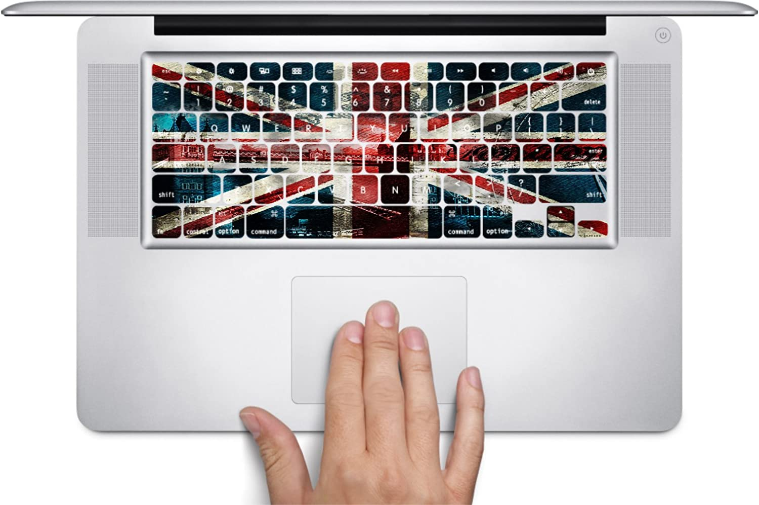 Trendy Accessories Vintage British Flag United Kingdom UK Keyboard Decals for 13 and 15 inch MacBook Air//Pro//Retina