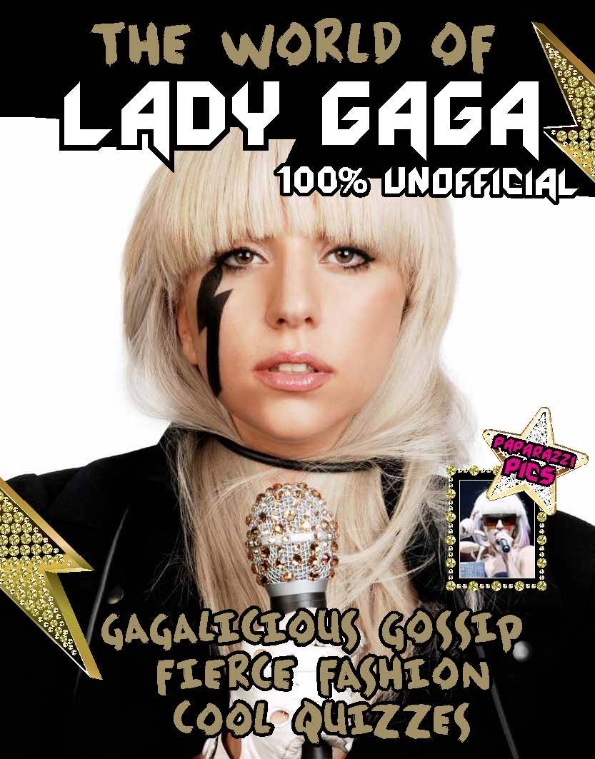 Must Have Fan Book Lady gaga book BRAND NEW The World of Lady Gaga  HARDCOVER