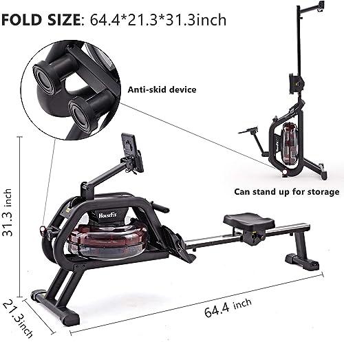 HouseFit Water Rower Rowing Machine 330Lbs Weight Capacity