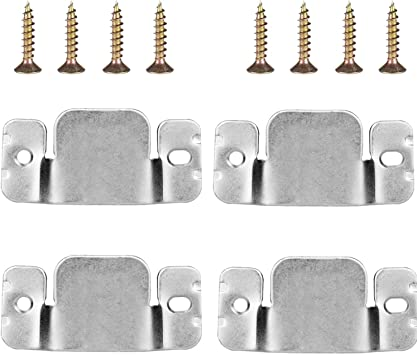 Mudder Universal Sectional Sofa Interlocking Sofa Connector Bracket With Screws 2 Pairs Amazon Ca Home Kitchen