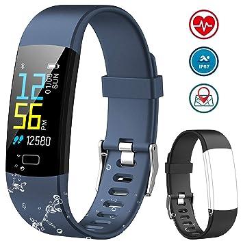 NAIXUES Pulsera Actividad Inteligente Pantalla Color, Pulsera Actividad con Oxígeno en Sangre, Monitor de