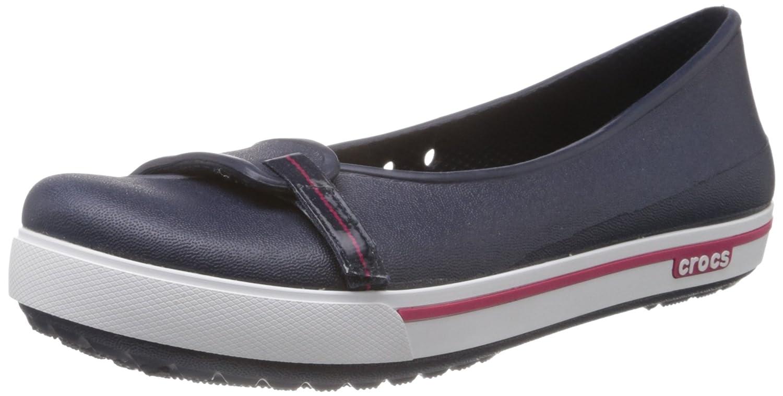 b19ad252c96a3c Crocs Crocband II.5, Women's Ballet Flats, Blue (Navy/Raspberry), 2 UK:  Amazon.co.uk: Shoes & Bags