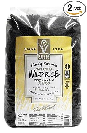 2 – 5 lb bolsas Natural Wild Arroz: Amazon.com: Grocery ...