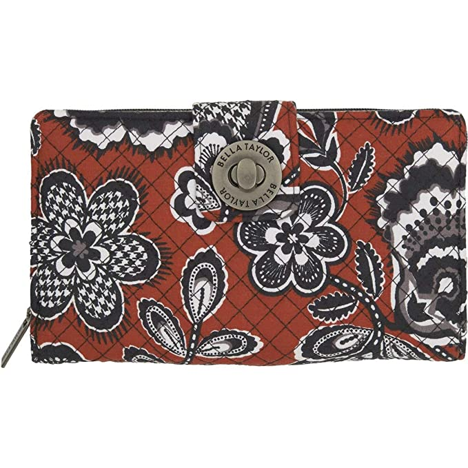 Amazon.com: Bella Taylor Carmine Cash System Wallet: Clothing