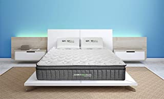 product image for Ghostbed Flex Mattress | 13 Inch Thick Hybrid Mattress | Enjoy Springy Support and Cooling Comfort | Mattress in a Box | Made in The USA | 25 Year Warranty (King)