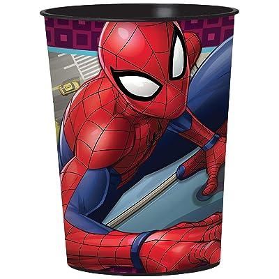 amscan Fvr Cup Spider-Man Webbed Wond: Toys & Games