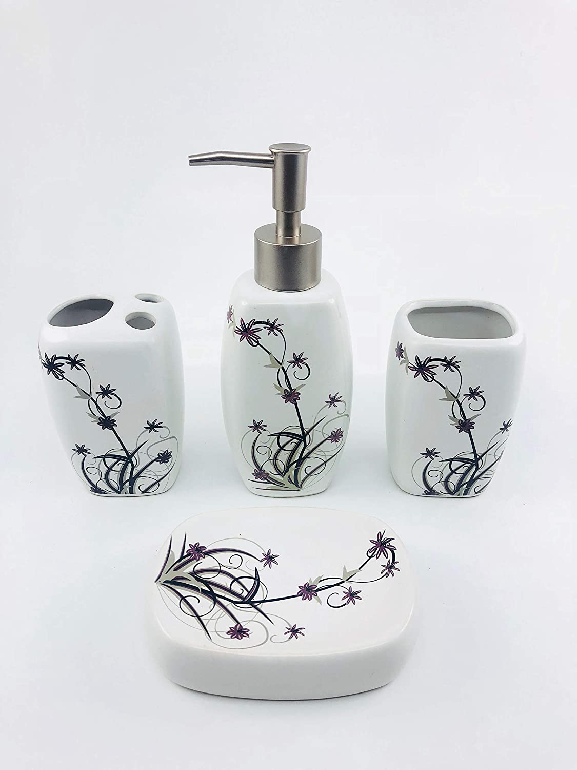 Go Hooked Designer Bathroom Sets (G9-B): Amazon.in: Home & Kitchen