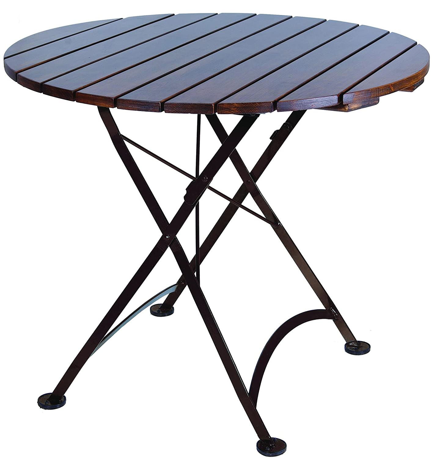 Amazon Mobel Designhaus French Café Bistro Folding Table Jet
