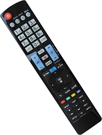 Amazon Com Replacement Remote Control Fit For Lg 49lx540s 32ly750h 49xs2b B 55ug8700 43lx310c 65ug8700 55uf6400 43uf6400 Ua 55lb6000 32lp620h 32lp620h Uh 32lt670h Ua 32lt770h 32lt770h Ua Smart 3d Plasma Hdtv Tv Electronics
