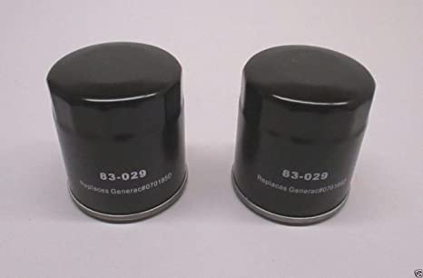 Oregon 83-029 Oil Filter for Generac 070185D 27 Micron