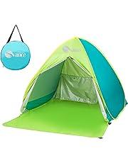 Pop-up Tienda, Svance Paravientos para Playa con Bolsa de Transporte, Protección UV 50