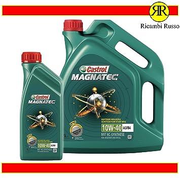 Aceite de motor Castrol Magnatec 10W40, 6 litros, SAE A3 B4 ...
