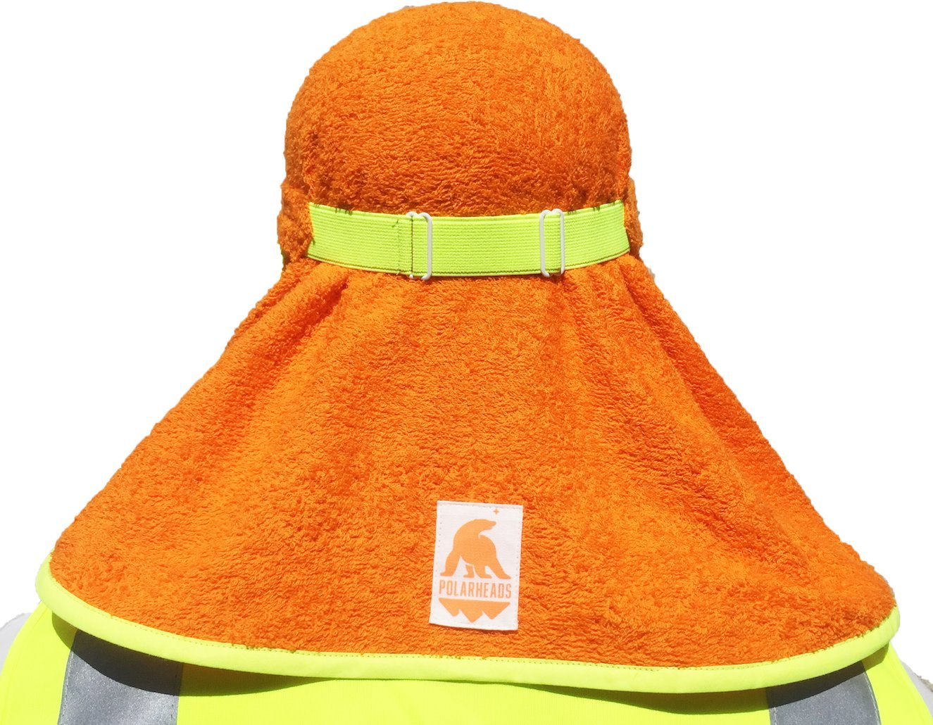 Polarheads 3-in-1 Hard Hat Sun Shade, Sweatband and Cooling Towel. Prevent Heat Stress and improve Hard Hat comfort. by Polarheads (Image #2)