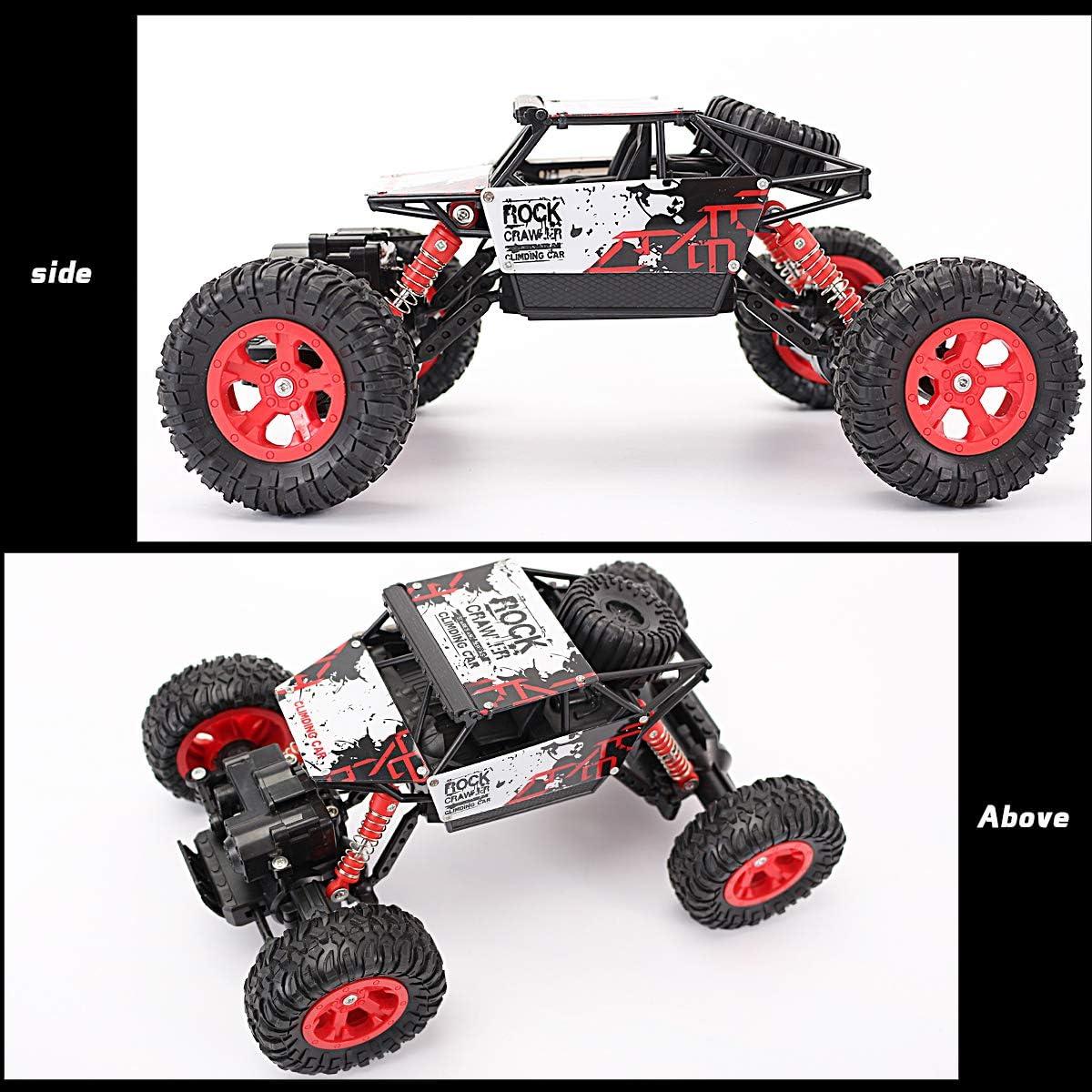 Amazon.com: Locke Teddy RC Car 4WD 1:16 Off-Road Racing ...