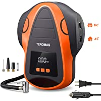 TEROMAS Tire Inflator Air Compressor, Portable DC/AC Air Pump for Car Tires 12V DC and Other… photo